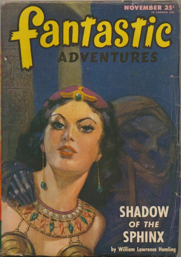 Fantastic Adventures, November 1946