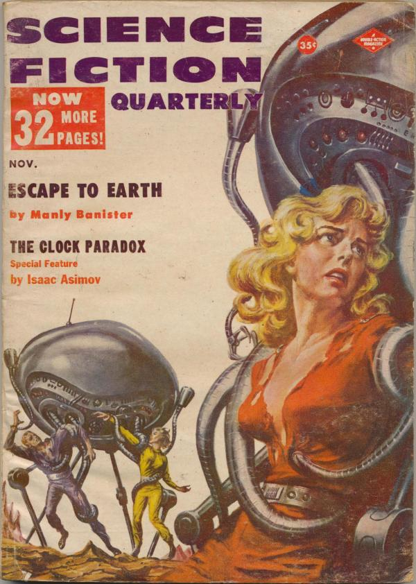 Science Fiction Quarterly, November 1957