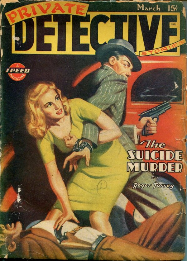 The Suicide Murder – Pulp Covers