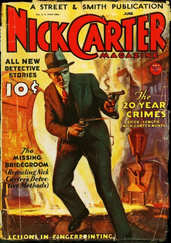 Nick Carter June 1934