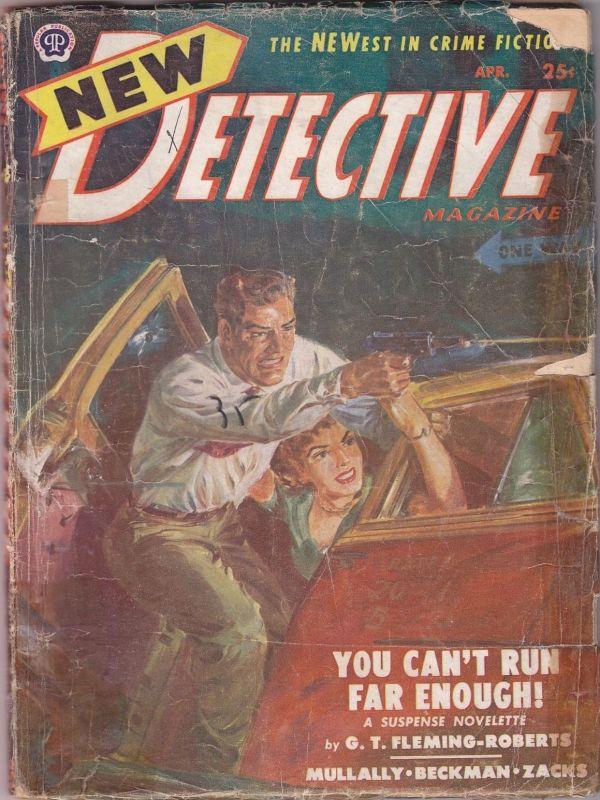 New Detective April 1952