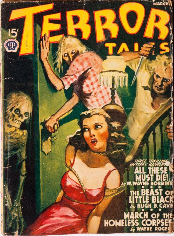 Terror Tales March 1941