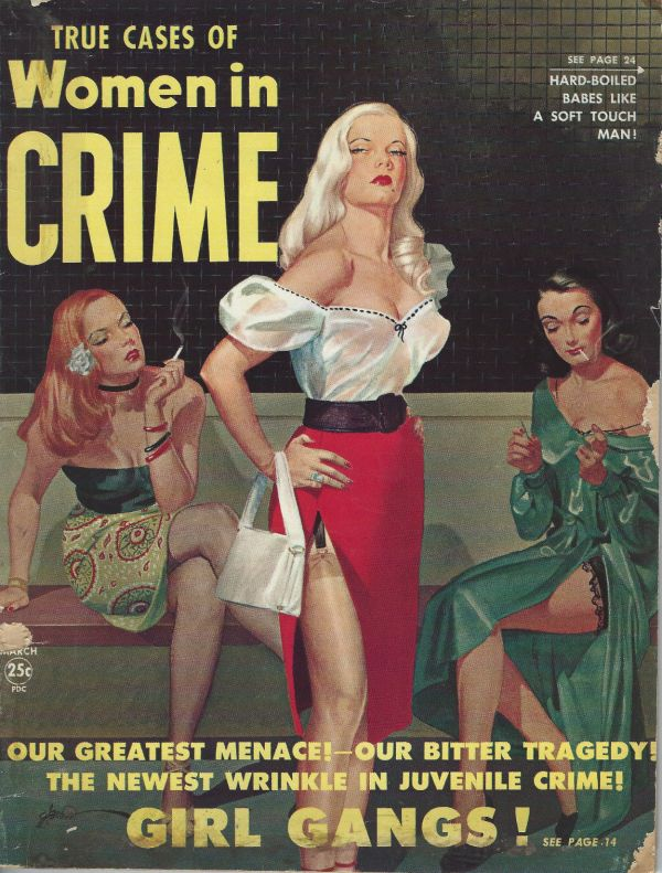 Women In Crime March 1951