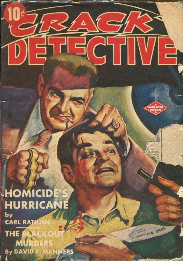 Crack Detective July 1943