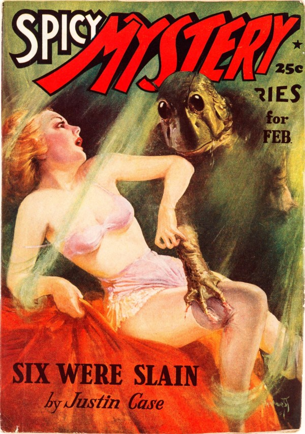 Spicy Mystery February 1938
