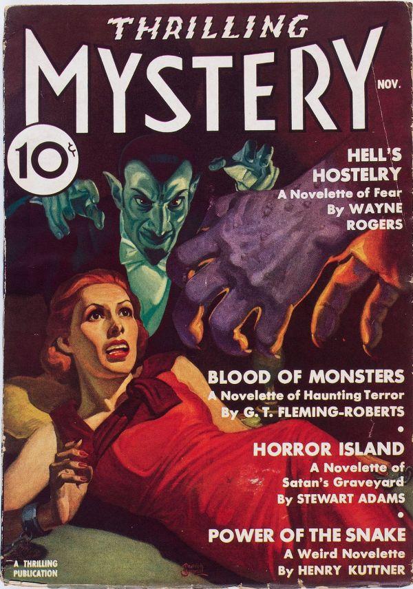 Thrilling Mystery - November 1936