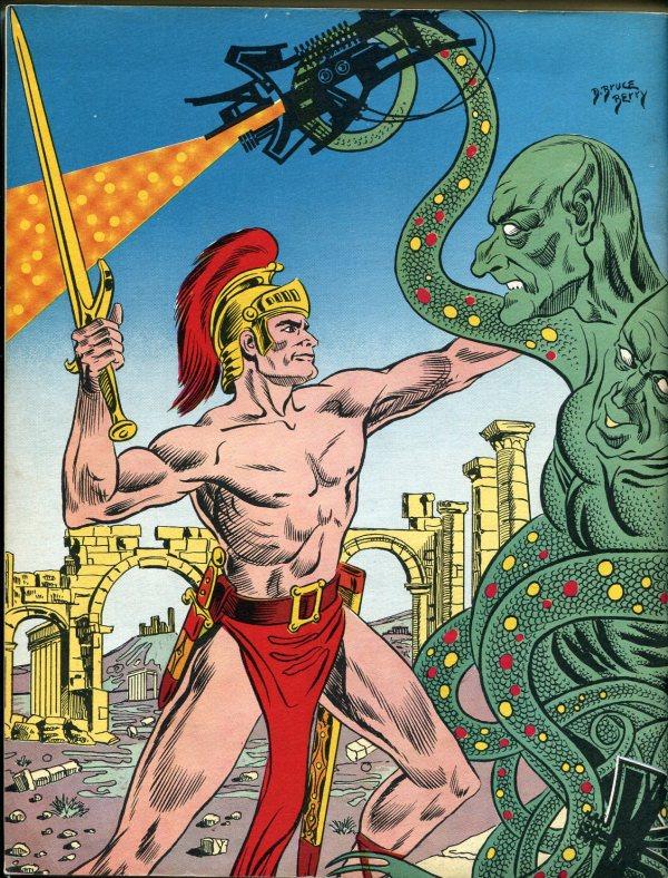 Fantasy Illustrated 1966 Back