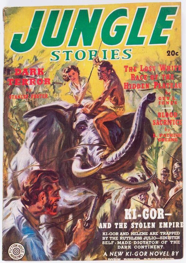 jungle Stories Fiction House, 1939