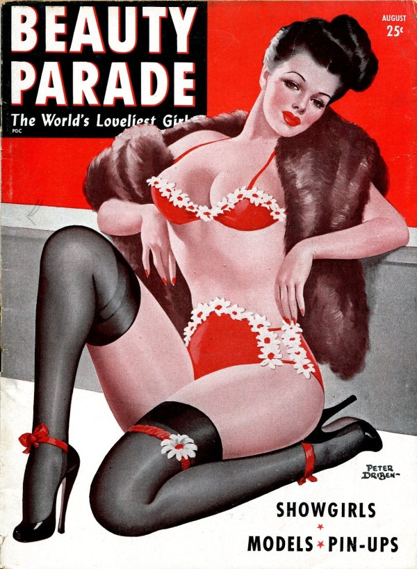 Beauty Parade August 1947