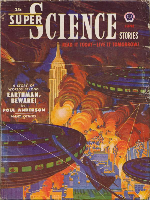 Super Science Stories, June 1951