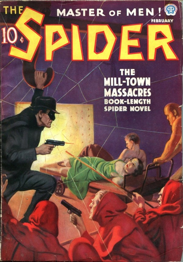 The Spider February 1937