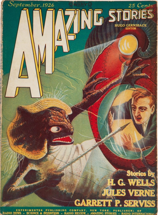 Amazing Stories, September 1926