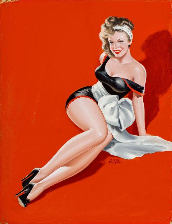 Beauty Parade magazine cover, December 1948