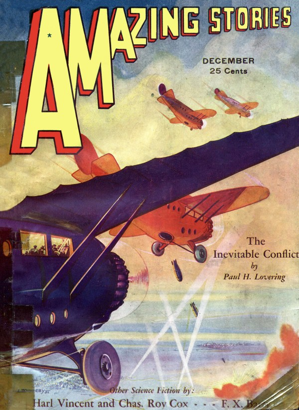 Amazing Stories December 1931