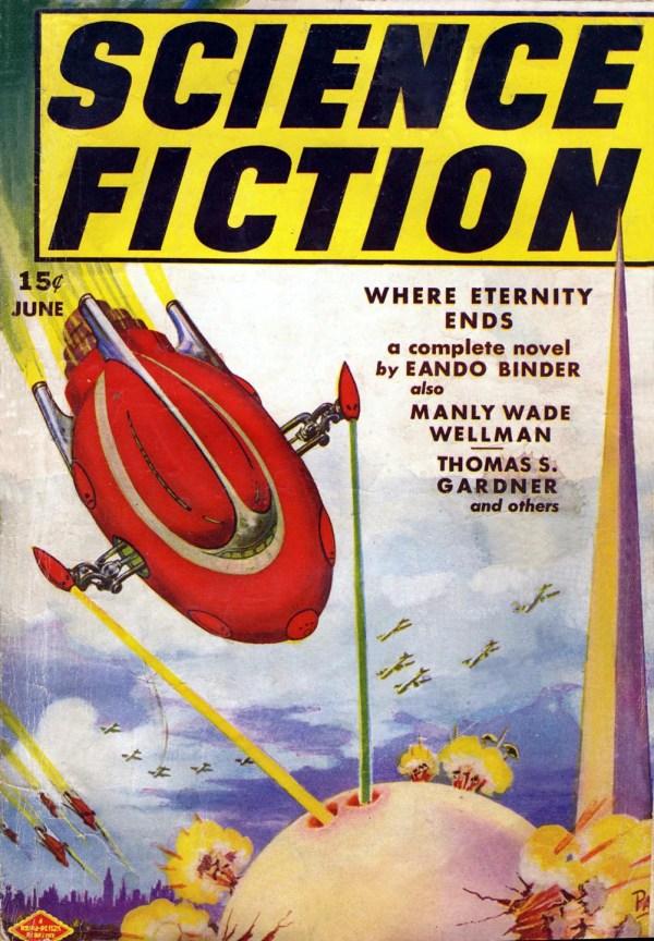 Science Fiction June 1939