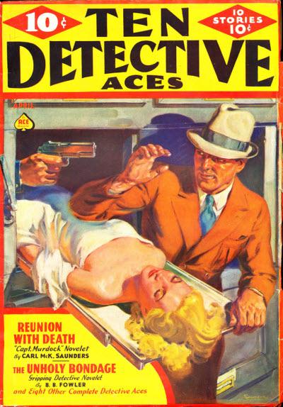 Ten Detective Aces April 1938