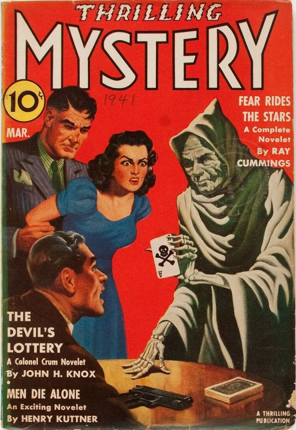 Thrilling Mystery - March 1941
