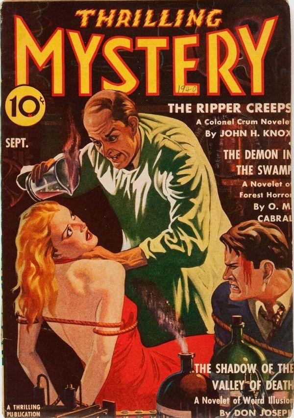 Thrilling Mystery - September 1940