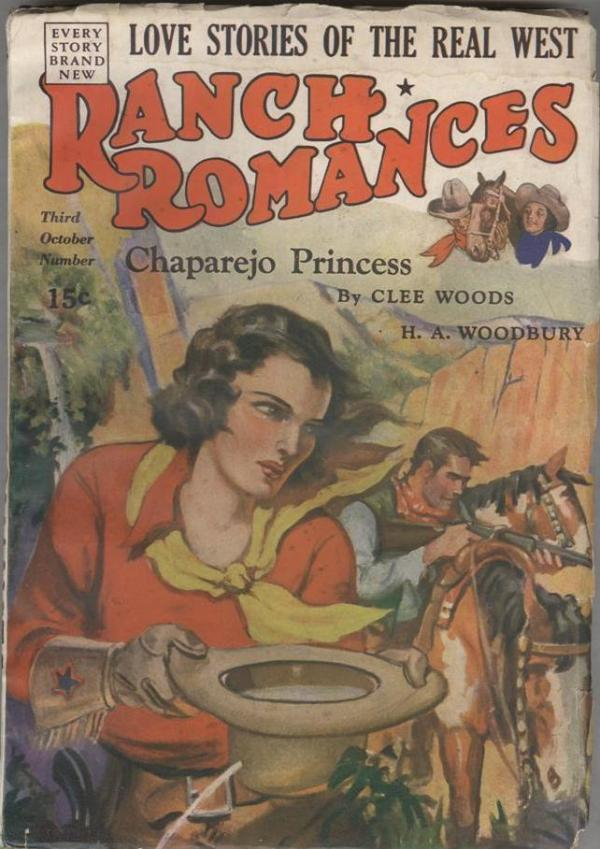 Ranch Romances October 27 1939