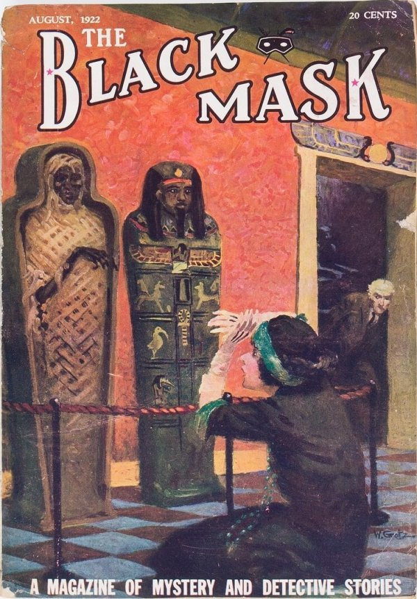 Black Mask - August 1922