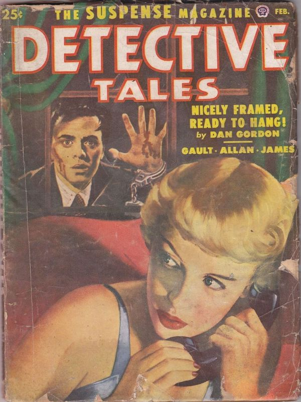 Detective Tales Feb 1952