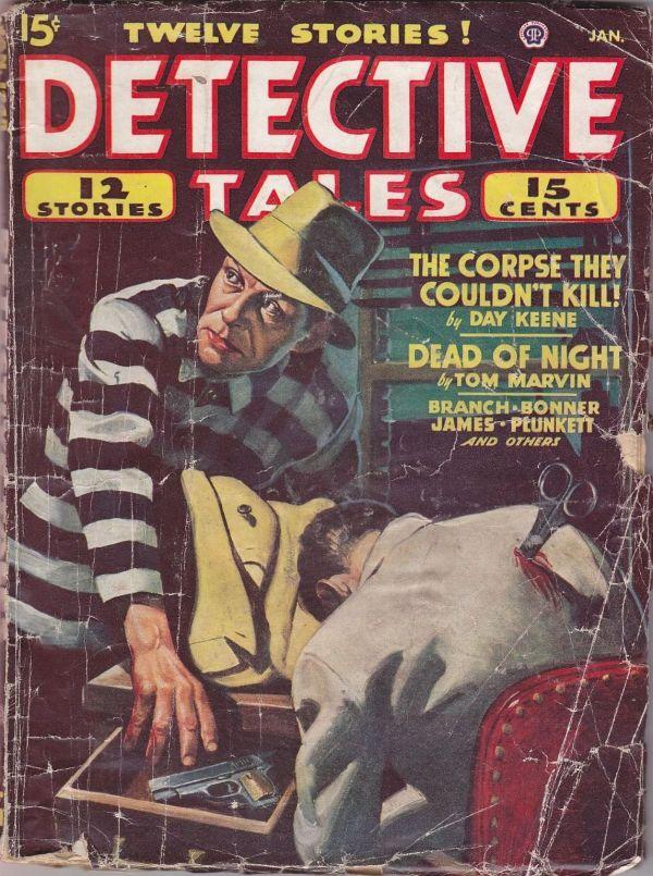 Detective Tales v38 #2, January 1948