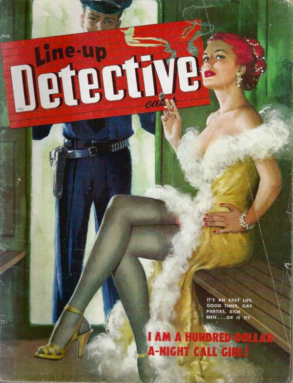 Line Up Detective February 1950