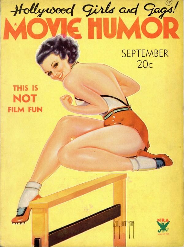Movie Humor September 1934
