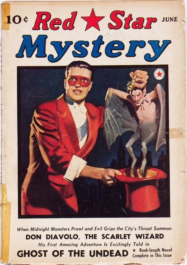 Red Star Mystery - June 1940