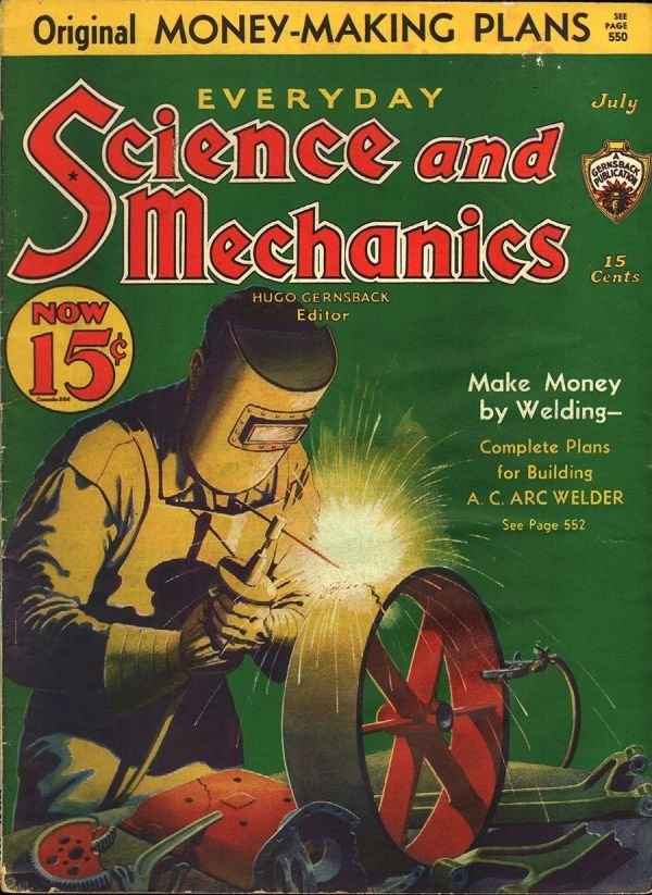 Everyday Science and Mechanics July 1933