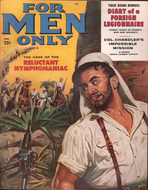 For Men Only April 1958