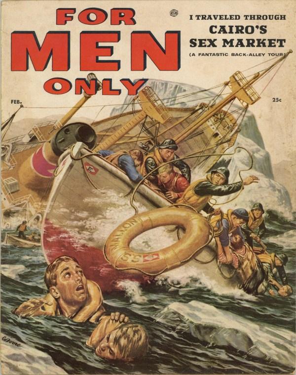 For Men Only February 1956
