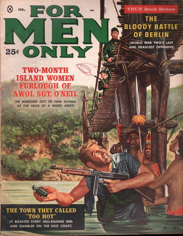 For Men Only February 1960