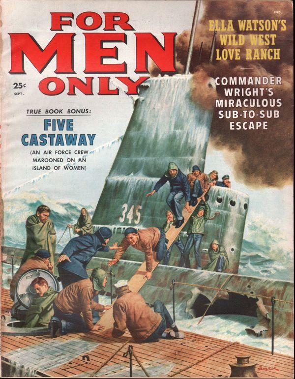 For Men Only September 1958