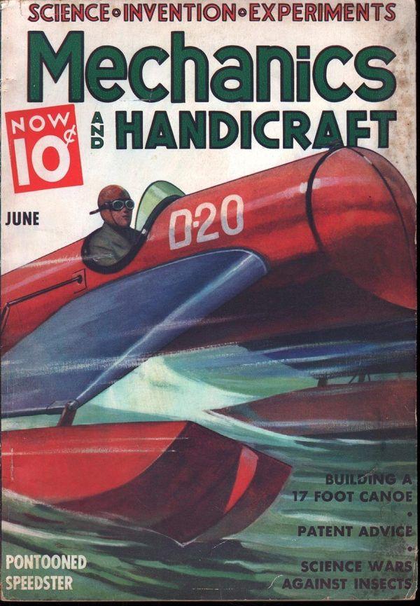 Mechanics And Handicraft June 1937