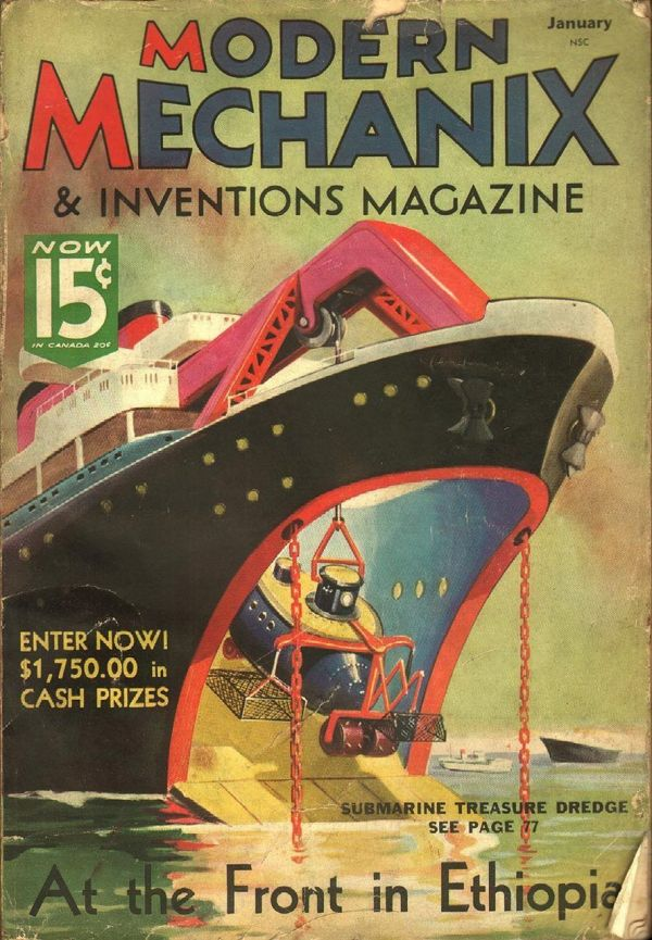 Modern Mechanix Hobbies and Inventions January 1936