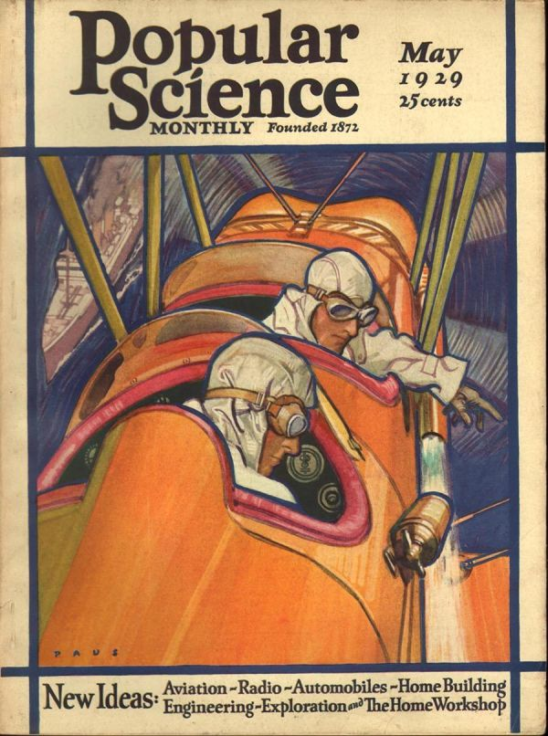 Popular Science May, 1929