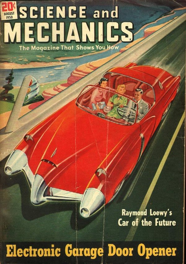 Science and Mechanics August 1950