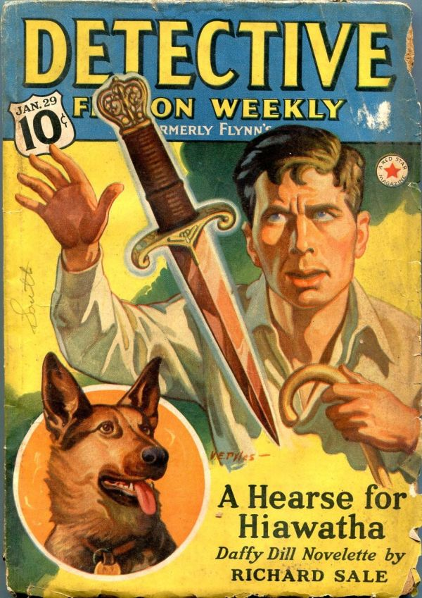 Detective Fiction Weekly January 29 1938