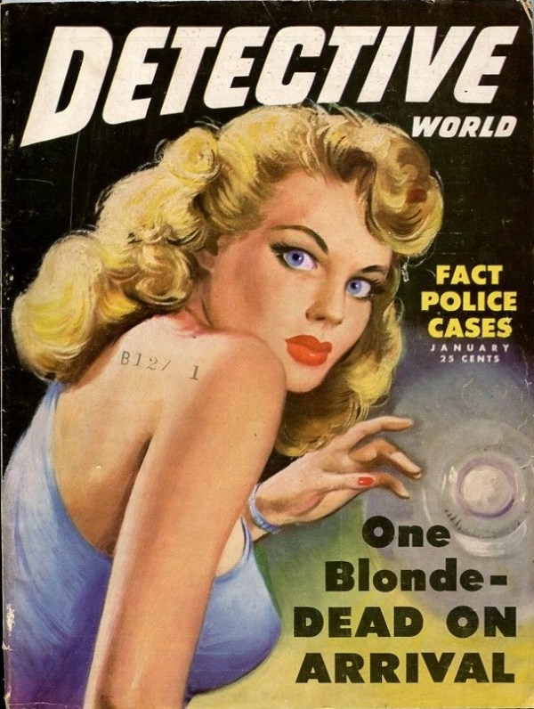 Detective World January 1950