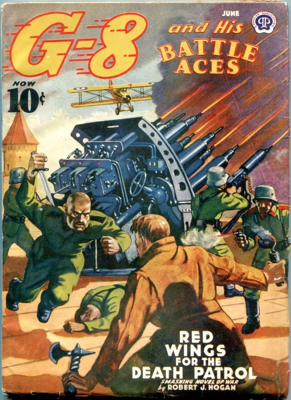 G-8 And His Battle Aces June 1940