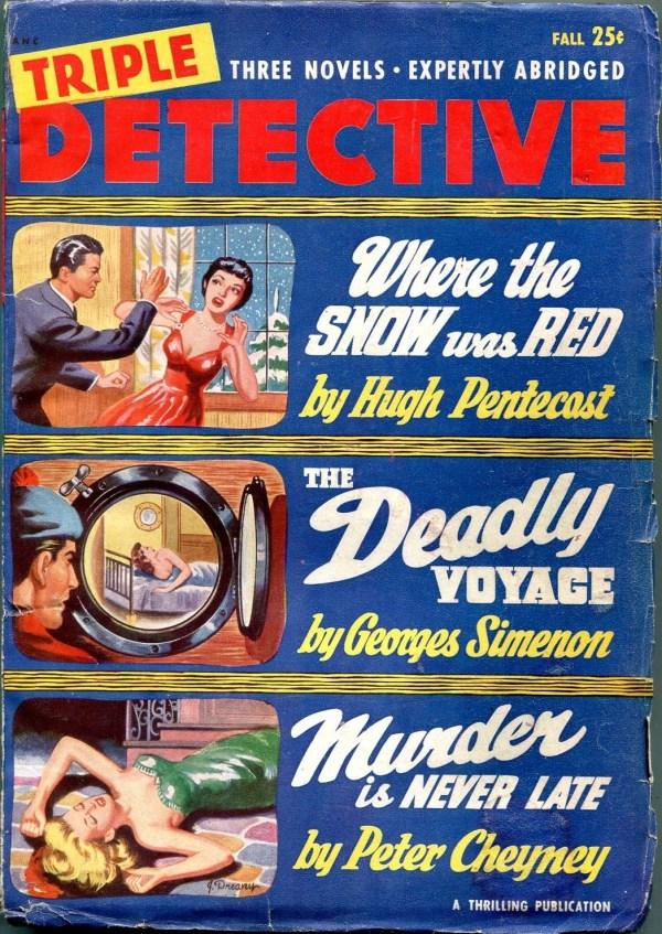 Triple Detective Fall 1950