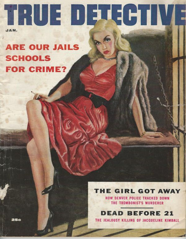 True Detective January 1956