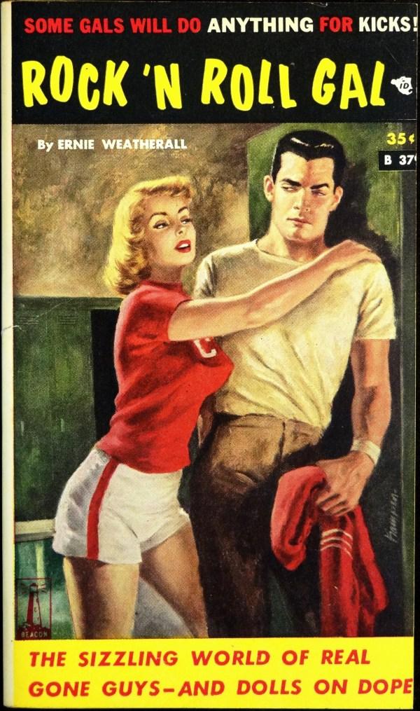 Beacon B-379 (1961). Cover  Art by Owen Kampen