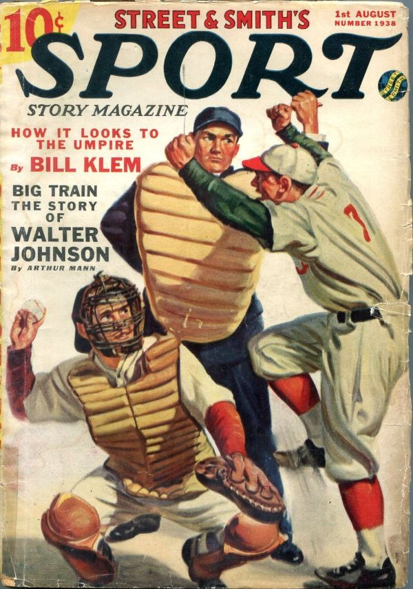 Sport Story August 1 1938