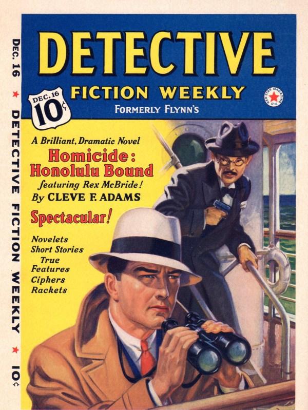 December 16, 1939 Detective Fiction