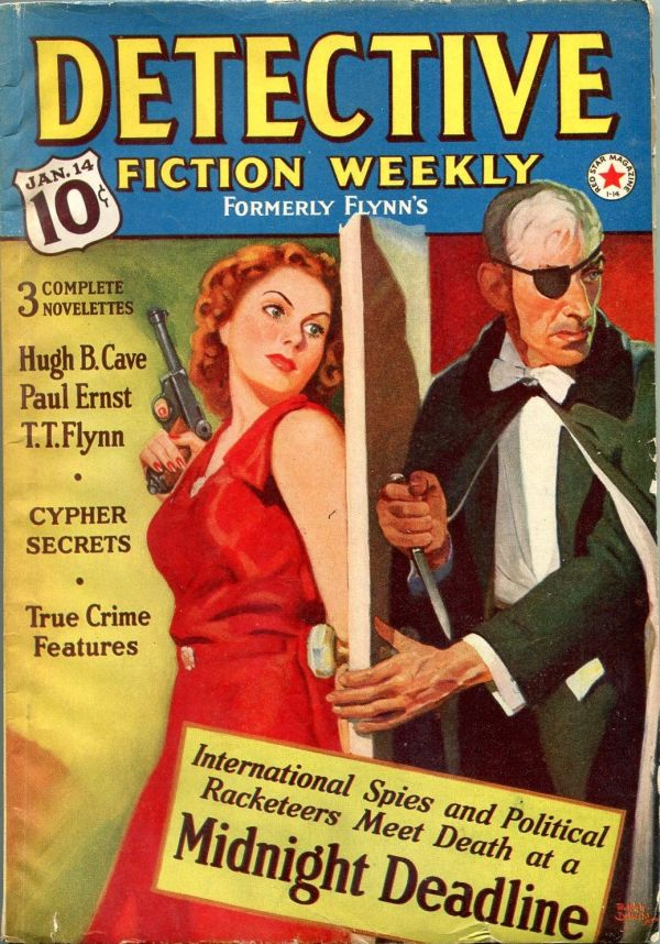 Detective Fiction Weekly January 14 1939