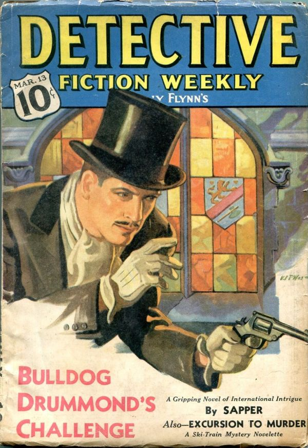 Detective Fiction Weekly March 13 1937