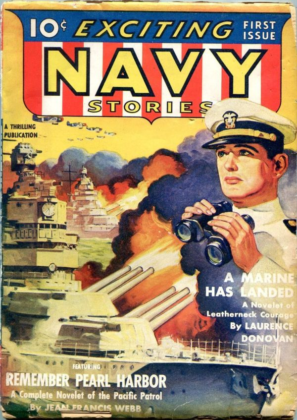 Exciting Navy April 1942