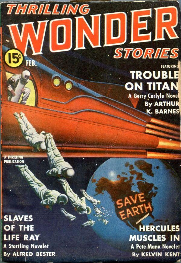 Thrilling Wonder Stories February 1941